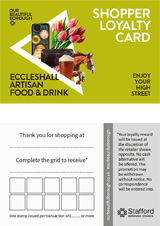 Loyalty Card for Eccleshall