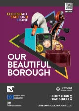 Poster for Our Beautiful Borough A4